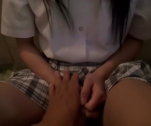 Horny Japanese slut Yuki Itano in Best couple, skinny JAV clip
