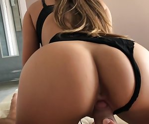 Tinder girl surprised me in first meeting.Creampie for her gaped asshole.4k