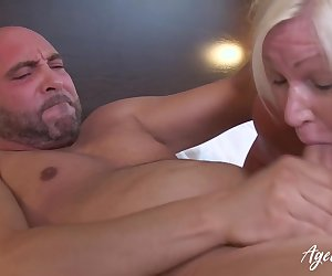 British mature ordered full service with horny guy from hotel room service Find full length videos on our network Oldnanny.com