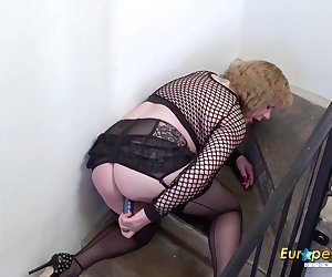 Compilation of british mature ladies enjoying solo masturbation and toying Find full length videos on our network Oldnanny.com