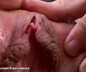 Violet Monroe is back at ATK with a soft bush to parade around. She flirts with the camera and gets naked. Violet rubs lotion on her skin and spreads her big pink pussy lips wide for you to get up close and personal.