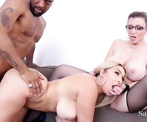 Nina Kayy, Nina And Sara Jay In Incredible Adult Clip Milf Check Only Here