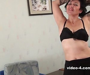 Yulya sets aside her work for some real fun. She doesn't want you to think she is boring after all. She has that hairy pussy you'll want to scream for.