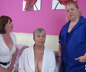 Masturbation and toying of horny mature ladies from great britain Find full length videos on our network Oldnanny.com