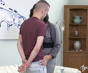 Reverse sexual harassment with busty mature being nice hardcore solution of office problems Find full length videos on our network Oldnanny.com